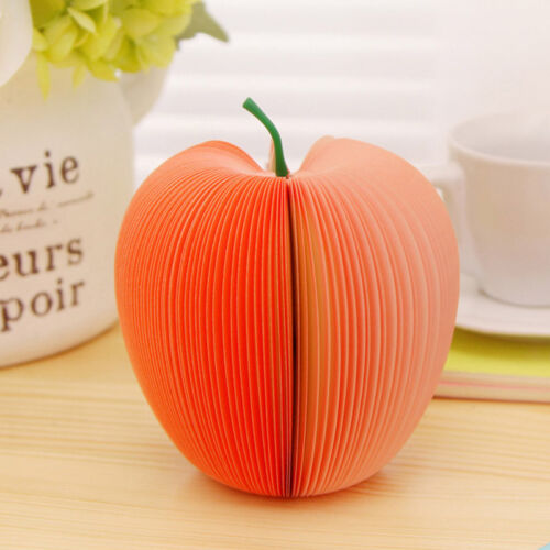 Writing Stationary Post Party Gift US 3D Fruits Shaped Memo Note Pad 150-Page