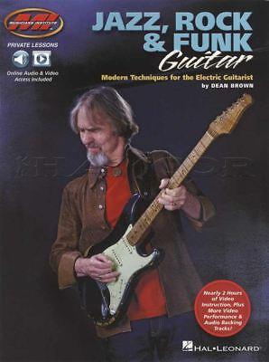 Devoted Jazz, Rock & Funk Guitar Tab Music Book/audio/video Modern Techniques Electric