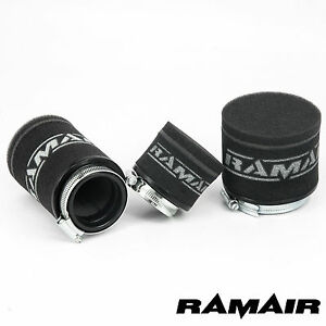 Ramair Filters MR-005 Motorcycle Pod Air Filter Black 43 mm