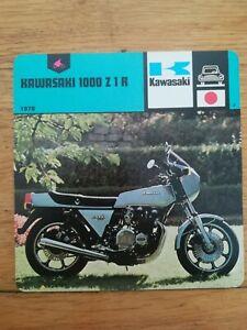 Fiche-Moto-Motorcycle-Card-12-x-12-5-cm-KAWASAKI-1000-Z-1-R-1978