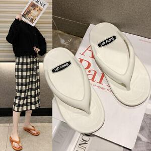 Summer-New-post-Shoes-eva-surf-Ladies-girls-toe-Flip-Flops-beach-Womens-Sandals
