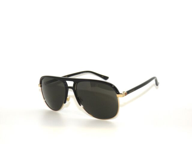 64ce578309 Gucci Grey Aviator Sunglasses Gg0292s 001 60 for sale online