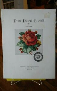 Very-rare-Petit-Point-Charts-no-1-by-Alice-Godkin-booklet-14-coloured-graphs