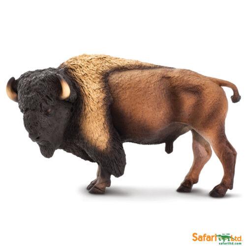 Safari Ltd 100138 Bison 21 cm serie animales salvajes XXL novedad 2018