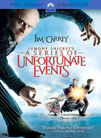 Lemony Snickets A Series Of Unfortunate Events DVD, 2005, Full Screen Collecti  - $6.00