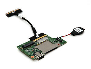 Dell Inspiron 13-5378 OEM WLAN Reader Card USB CMOS Battery Board 3GX53 /& Cable