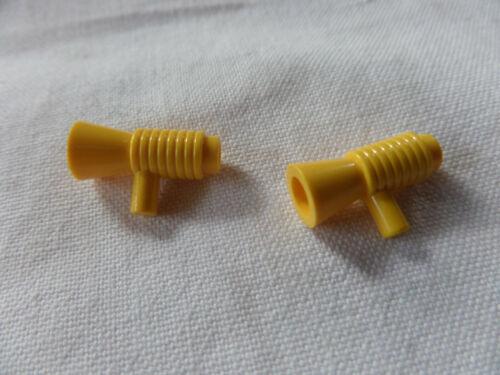 2 x Lego City 4349 Megaphon Lautsprecher gebraucht gelb yellow