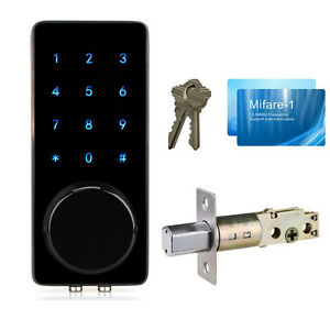 New smart digital electronic touch keypad door lock with for 1 touch door lock