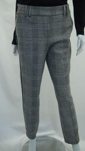 Cecil Casual Fit A Quadri Pantaloni Tracey Articolo N b371718 a quadri Glencheck Galon NUOVO