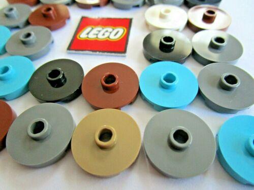 Design 18674 LEGO Tile Round 2x2 CON MONTANTE CONFEZIONI DA 8