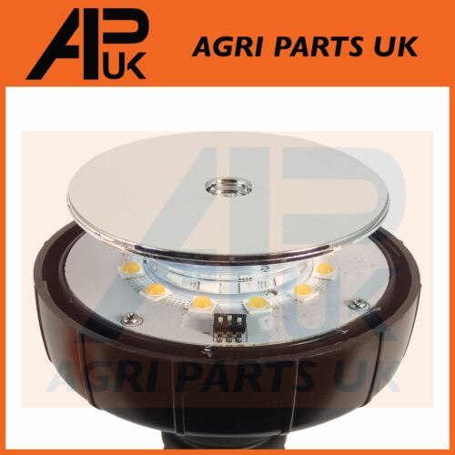 Flexi LED Lampeggiante ambra segnalatore John Deere Fendt Case IH JCB Trattore McCormick