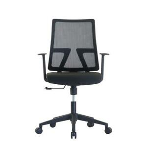 MotionGrey Executive Ergonomic Computer Desk Task Mesh Series Low Back Office Chair 2019 Version - Five Star Rating Canada Preview