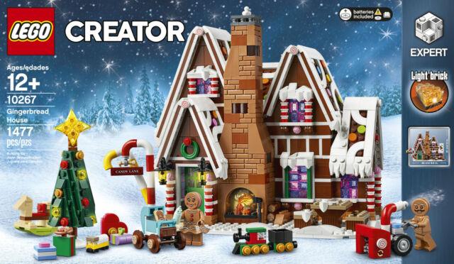 LEGO Creator Expert Winter Village Gingerbread House 10267 VHTF