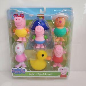 Jazwares-Peppa-Pig-Squish-N-039-Splash-Friends-Figure-Set