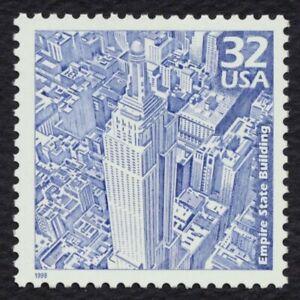 #3185b 32c Empire Estado Construcción, Nuevo Cualquier 5=
