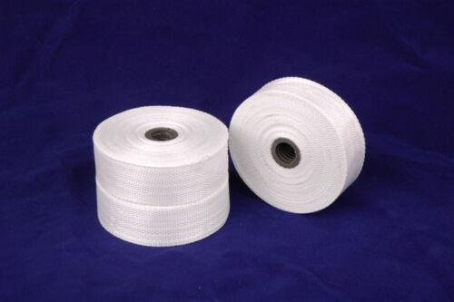 "1pc Fiberglass Cloth Tape E-Glass 1/"" wide 54 Yards 25mmx50m Fiber Plain Weave"