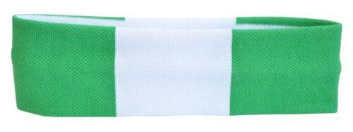 Bandeau Nigeria 6x21cm Schweißband pour Sport Headband