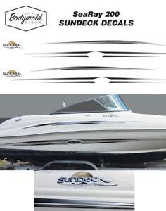 SeaRay SUNDECK Decal/Graphics kit
