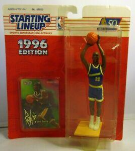 1996  JOE SMITH Starting lineup (SLU) Basketball Figure & Card - WARRIORS
