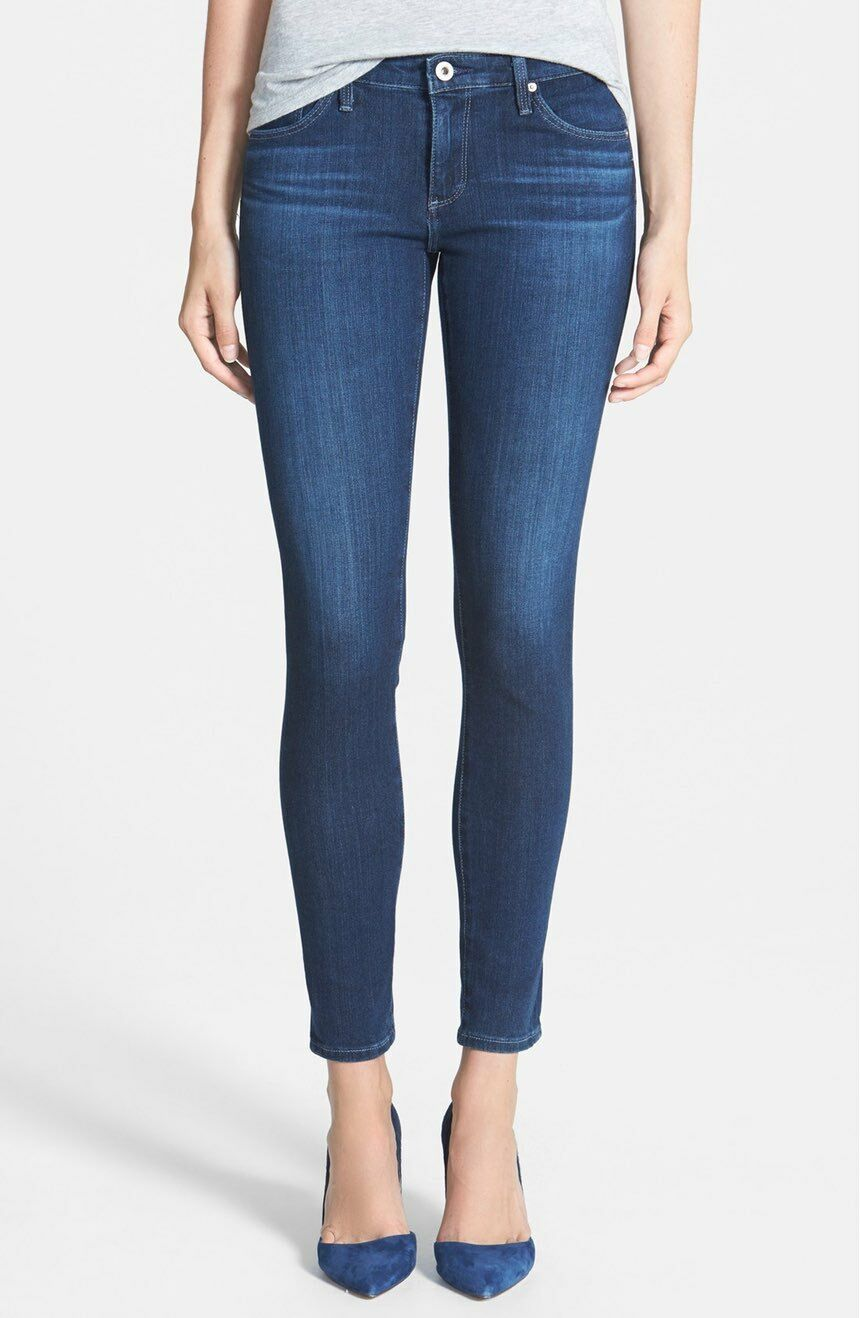 AG Jeans Contour 360 The Legging Ankle - Crater - Size 25