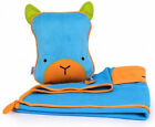 Trunki Snoozihedz Travel Pillow and Blanket Bert Blue Age 2 Years