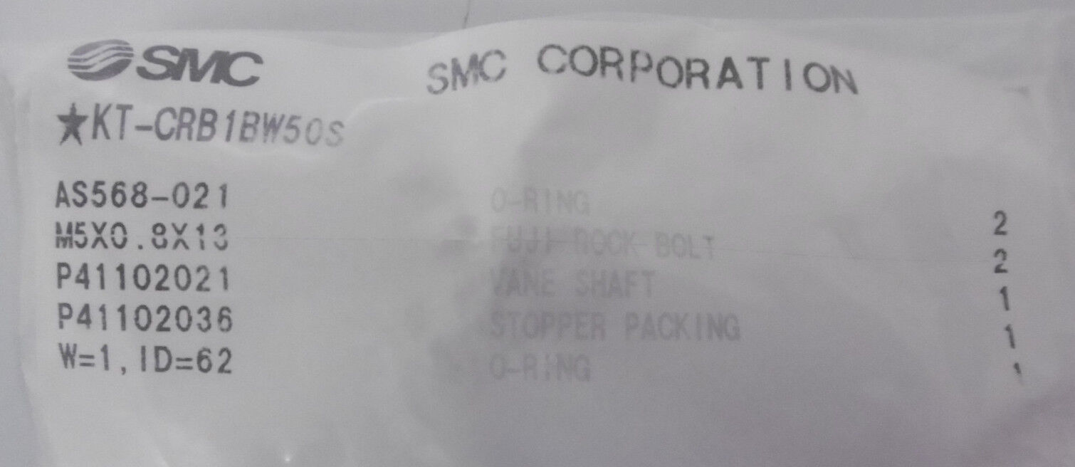 SMC KT-CRB1BW50S Reparatur-Set NEU NEU NEU OVP babc0c