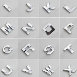 40pcs-Car-Auto-Chrome-Metal-DIY-3D-Letters-Digital-Alphabet-Emblem-Car-Stickers