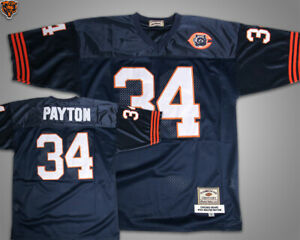 sale retailer 79f54 1c322 Details about NFL Vtg Chicago Bears #34 Walter Payton Jersey Players Men sz  3XL-4XL New