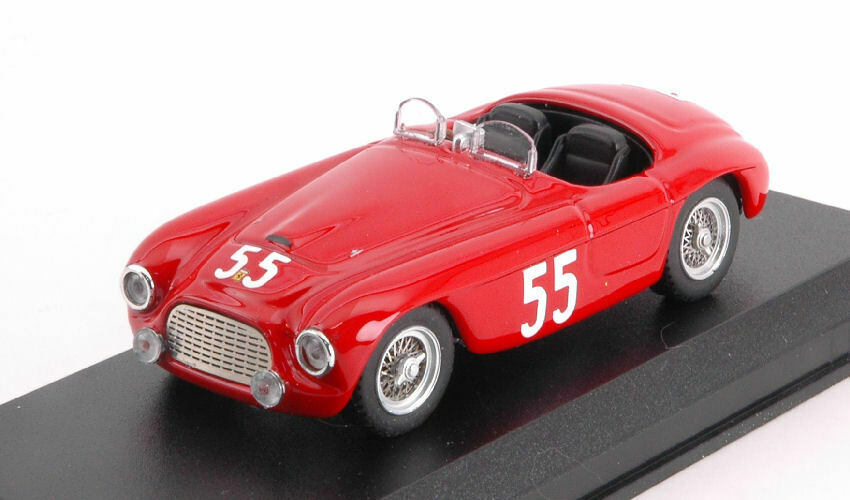 Ferrari 166 Mm nd (1st Class) 6 H Sebring 1950 Kimberly   Lewis 1 43 Model