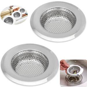 Stainless Steel Kitchen Sink Strainer Waste Plug Drain Stopper ...