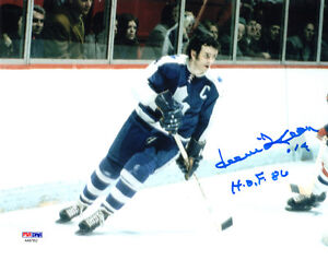 d801d93bf DAVE KEON SIGNED AUTOGRAPHED 8x10 PHOTO + HOF 86 TORONTO MAPLE LEAFS ...