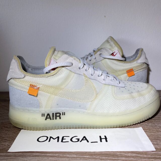 Size 9 - Nike Air Force 1 Low x OFF-WHITE The Ten 2017 for sale ...