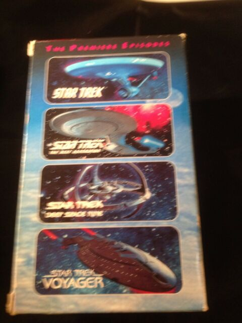 Star Trek The Premier Episodes Rare Collectable Box Set VHS Tapes Free Postage