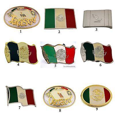 Gürtelschnalle Buckle Mexiko Mexico Flag Fahne