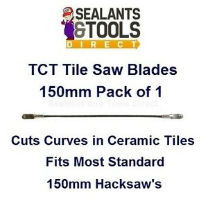 Silverline tct tile saw 150mm cutting spare blade fits most 150mm image is loading silverline tct tile saw 150mm cutting spare blade greentooth Choice Image
