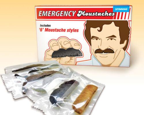 Accessories Notfall Schnurrbart 6er-Setzum Tarnen Fasching Verkleidung