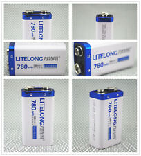PILE BATTERIE RECHARGEABLE - Accu Battery Pile Accus - 9V - Li-ion 780Mah