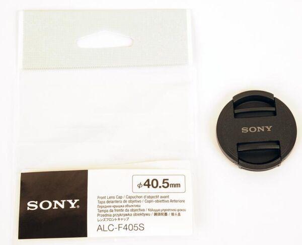Intelligente Sony Bouchon Avant Objectif 40,5mm Alc-f405s