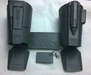 The Mandalorian Beskar Armour Gauntlets Hand Guards 1 1 3d Star Wars Prop Kit Ebay