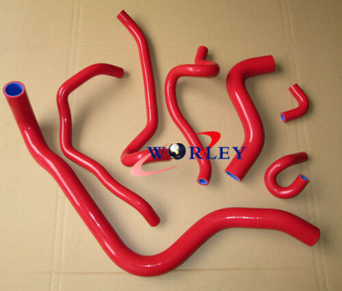 FOR ACCORD SIR-T CF4 F20B DOHC 1997-2000 98 SILICONE RADIATOR HEATER HOSE KIT