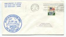 1969 Apollo 10 Support Military Sea Transportation San Francisco Space Cover