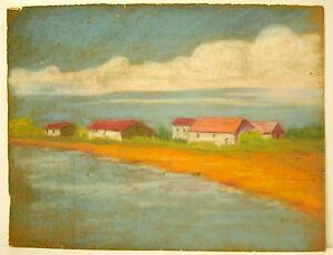 Paysage De Bords De Mer, Littoral, Landscape Of Seashore, Coastline, MatéRiaux De Qualité SupéRieure