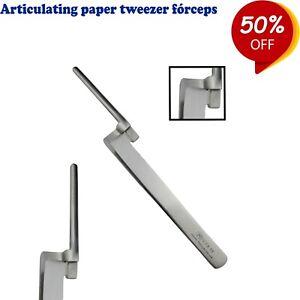 Chirurgie-Kieferorthopaedie-Artikulationspapier-Pinzetten-Paper-holding-Zangen