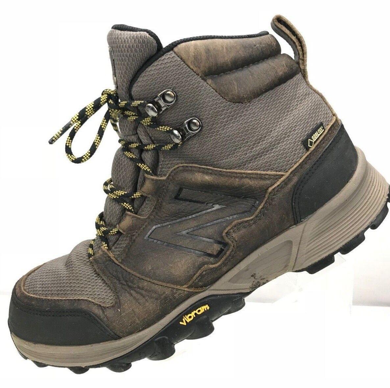 New Balance 1099 Hiking Boots Grey Vibram Gore Tex Winter shoes Men's Size 11.5
