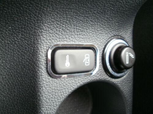 D skoda Octavia 2 cromo marco para interruptor cierre centralizado de acero inoxidable