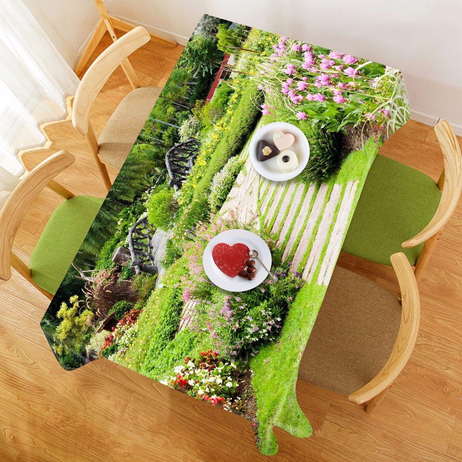 3D Pelouse Road 88 Nappe Table Cover Cloth Fête D'Anniversaire événement AJ papier peint UK