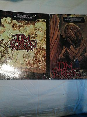 Sword & Sorcery Scarred Lands d20 DM Screen and Companion