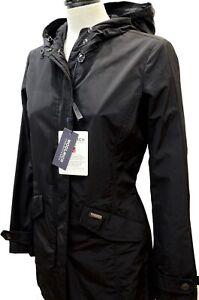 best service 092dc ac553 Details about Woolrich W'S Summer Parka Black Waterproof Jacket Woman  Wwcps2468