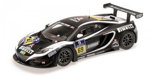 McLaren 12c gt3 NURBURGRING 2013-Minichamps 1 18 1511331369