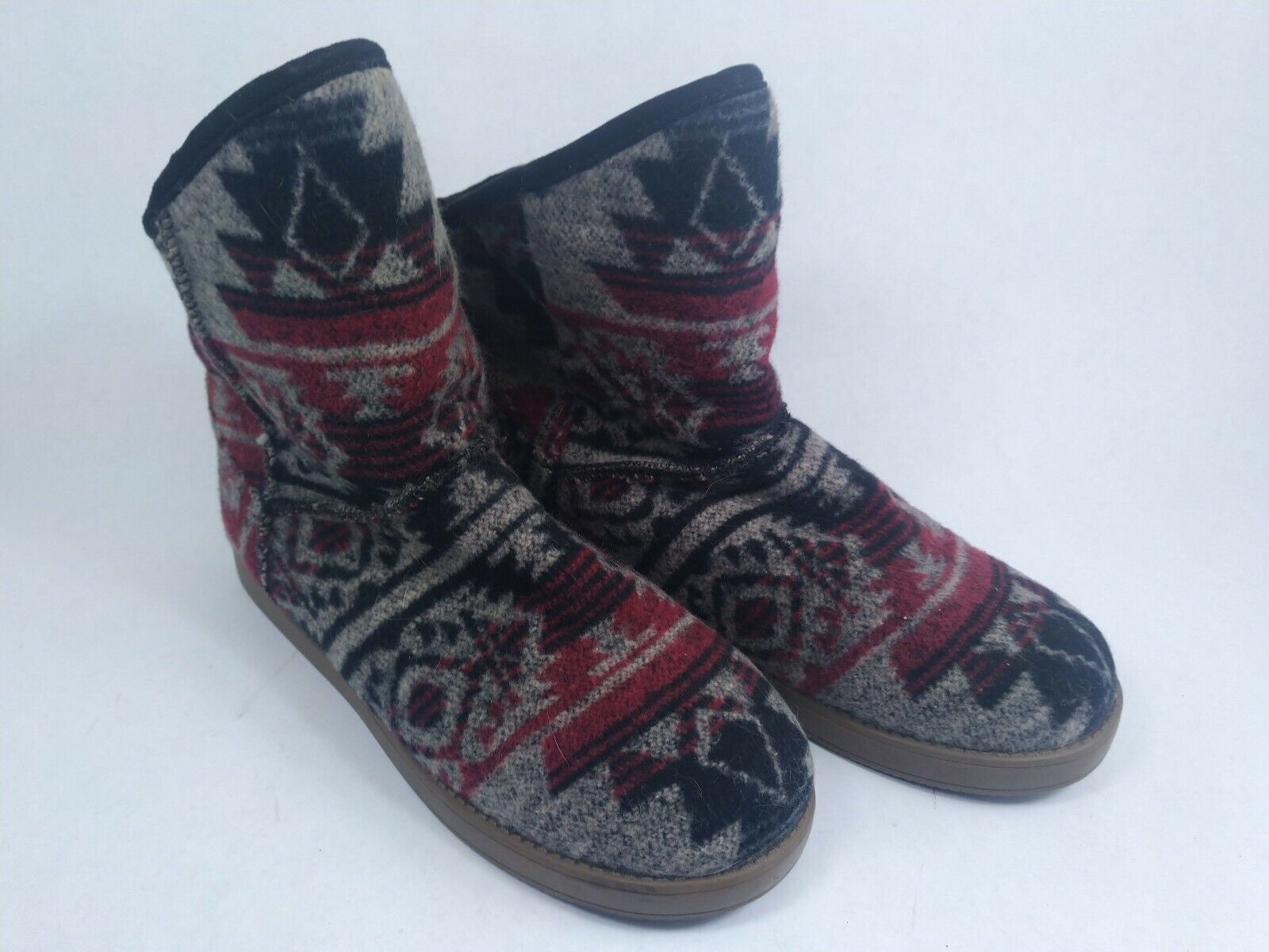 INDIGO RD. - Aylee - Women's Cold Weather Boots, Red Multi, Size 11M shoes